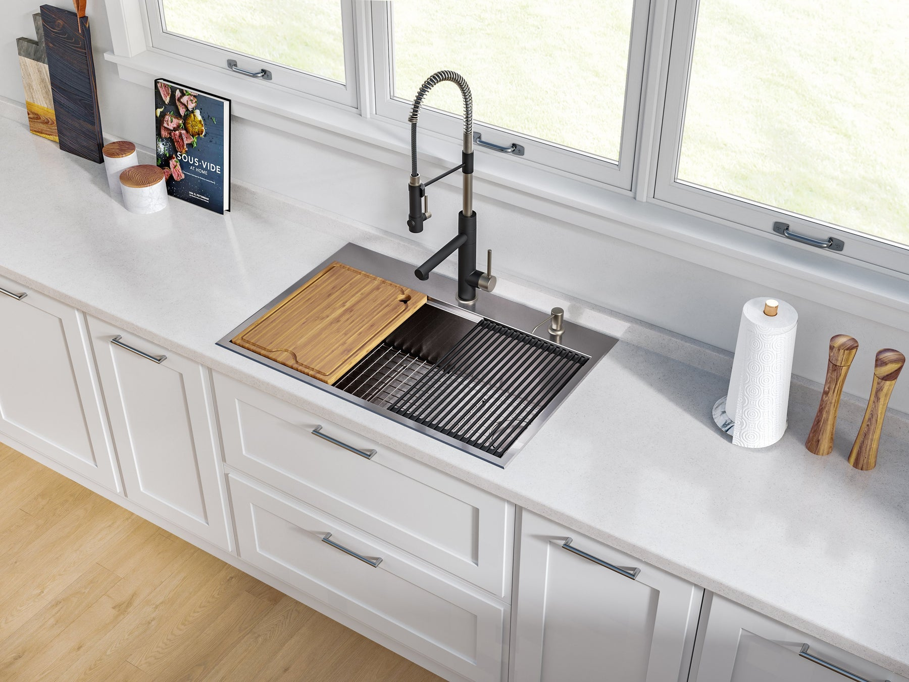 Kraus Kore™ Kitchen Sinks | Do More with Kore™