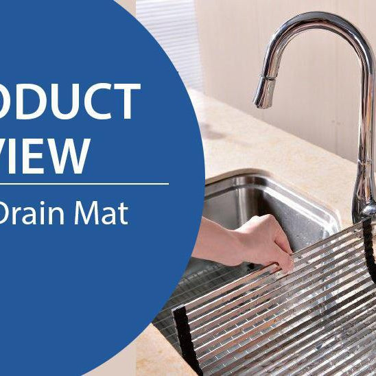 PRODUCT REVIEW: DAWN KITCHEN & BATH SINK DRAIN MAT-DirectSinks
