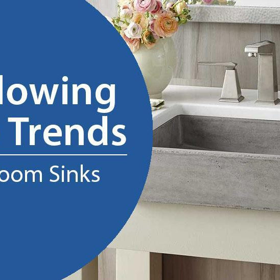 Today's Trends for Bathroom Sinks-DirectSinks