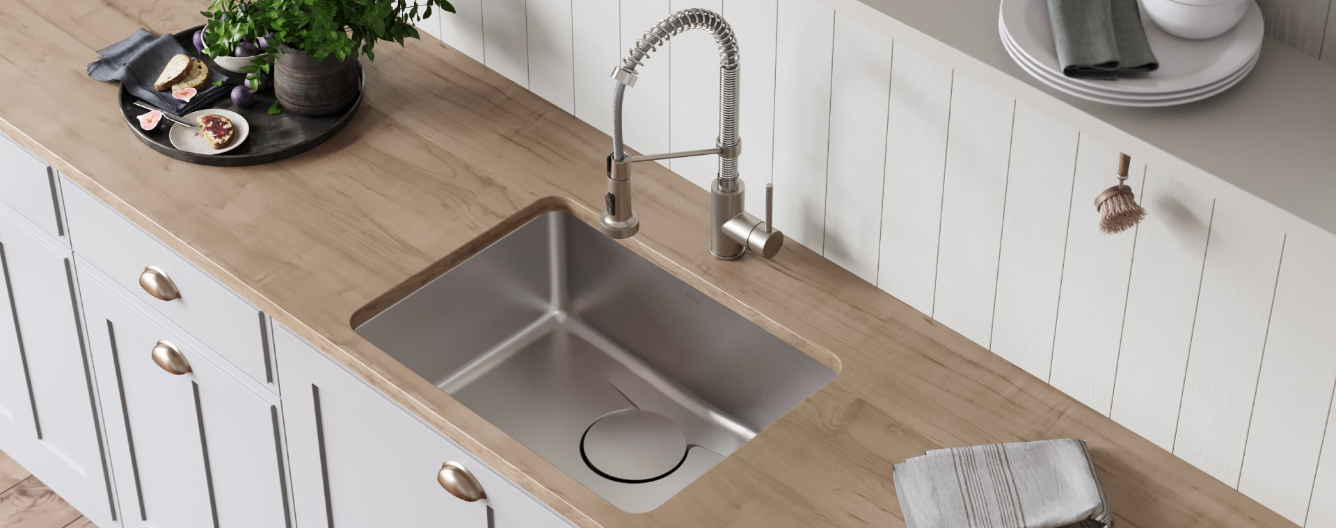 KRAUS sinks DEX collection with DrainAssure