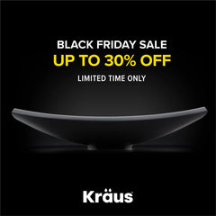 Black Friday Sale on Sinks and Faucets by KRAUS