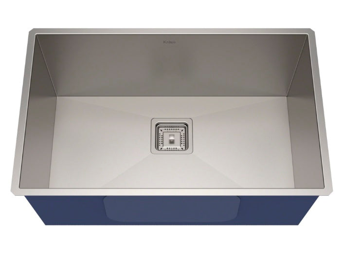 KRAUS Zero Radius Kitchen Sink