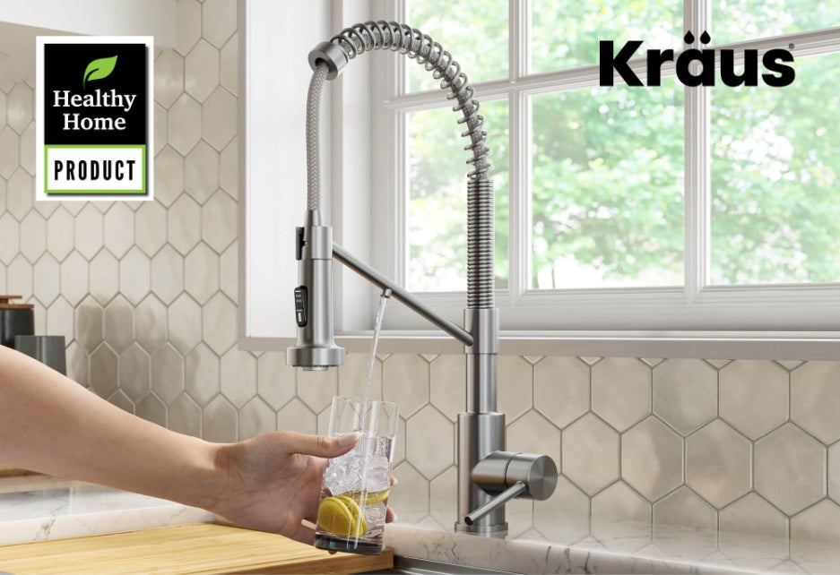 Kraus 2-in-1 Filter Faucets