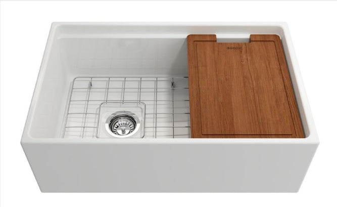 Bocchi Fireclay Farmhouse Sink