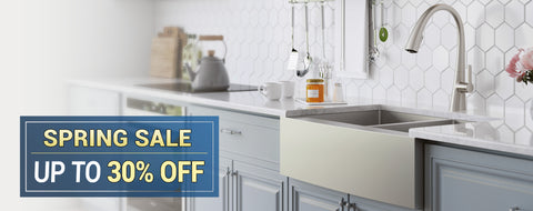 kraus spring sale. up to 30% off select items. view sale items here. directsinks.com