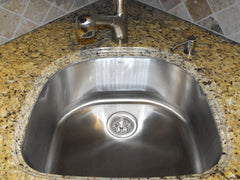 Biggest Sink for a Corner Sink Base Cabinet — DirectSinks