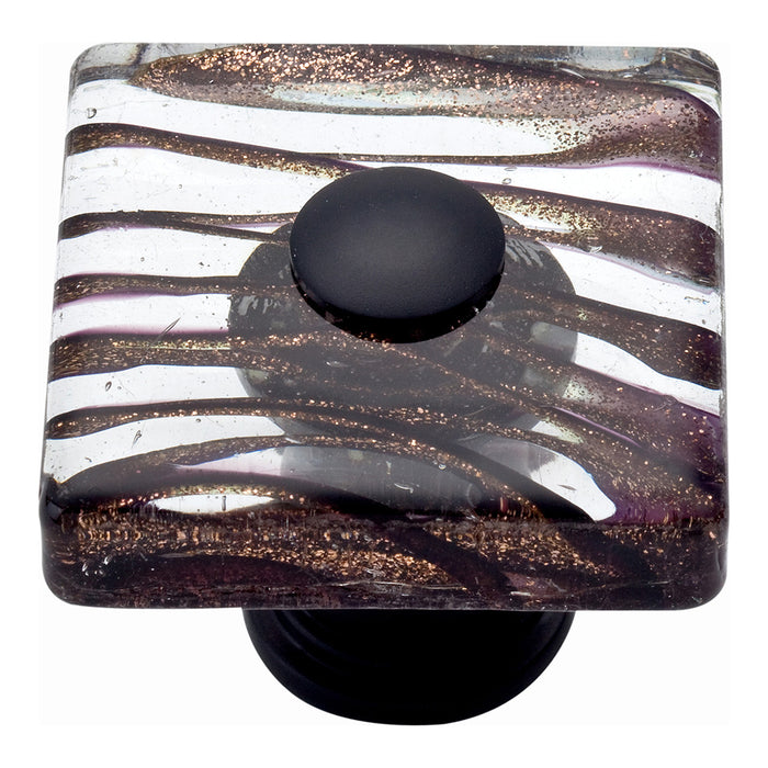 Milkyway Square Glass Knob-DirectSinks