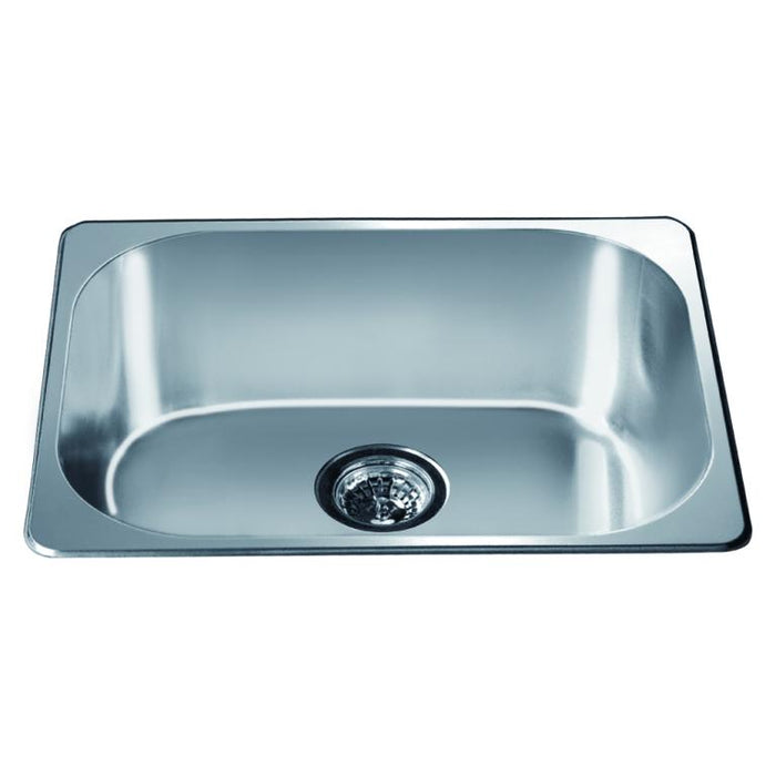 Dawn Top Mount Single Bowl Bar Sink-Bar & Prep Sinks Fast Shipping at DirectSinks.