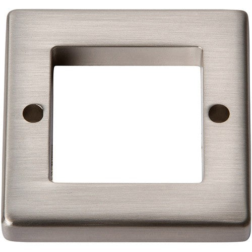 "Atlas Homewares Tableau SquareBase 1-7/16"", Available in 4 Colors"