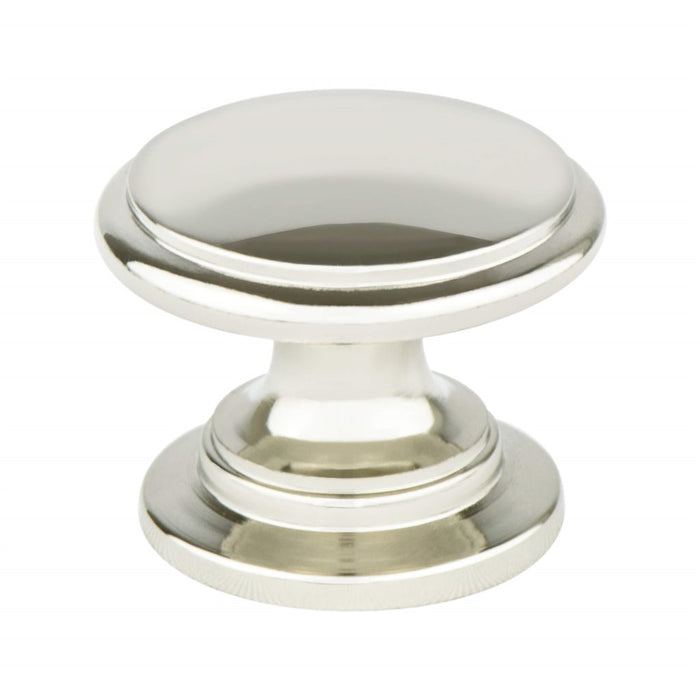 4145-1014-P Designers Group Ten Polished Nickel Andante Knob