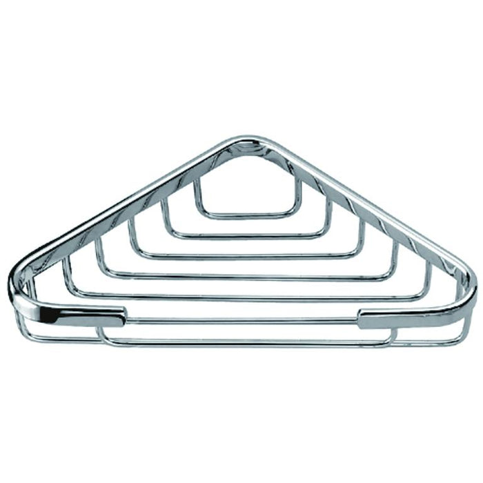 "Dawn Triangle Basket 6-1/2"" x 6-1/2"", Chrome-Bathroom Accessories Fast Shipping at DirectSinks."