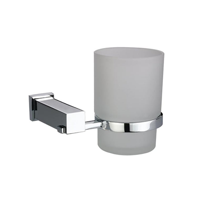 Dawn Square Series Single Tumbler Tooth Brush Holder-Bathroom Accessories Fast Shipping at DirectSinks.