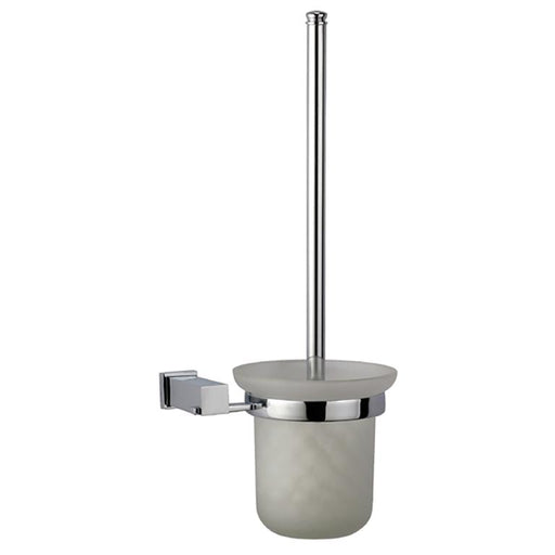 Dawn Square Series Toilet Brush and Glass Tumbler Holder-Bathroom Accessories Fast Shipping at DirectSinks.
