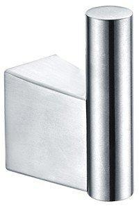 Dawn 84010040S Stainless Steel Square Robe Hook-Bathroom Accessories-DirectSinks