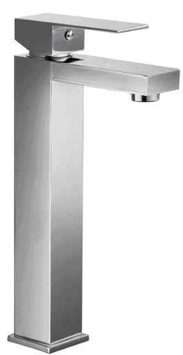 Alfi AB1129 Tall Square Single Lever Bathroom Faucet