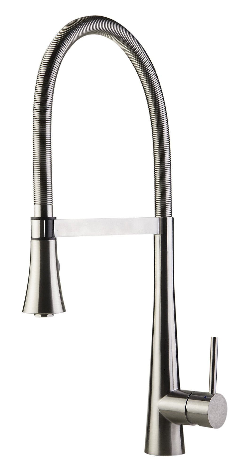 AB2027 Brushed Gooseneck Single Hole Faucet with Spray Head
