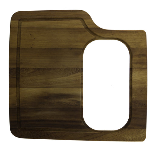 Ab50Wcb Rectangular Wood Cutting Board With Hole For Ab3520Di-DirectSinks