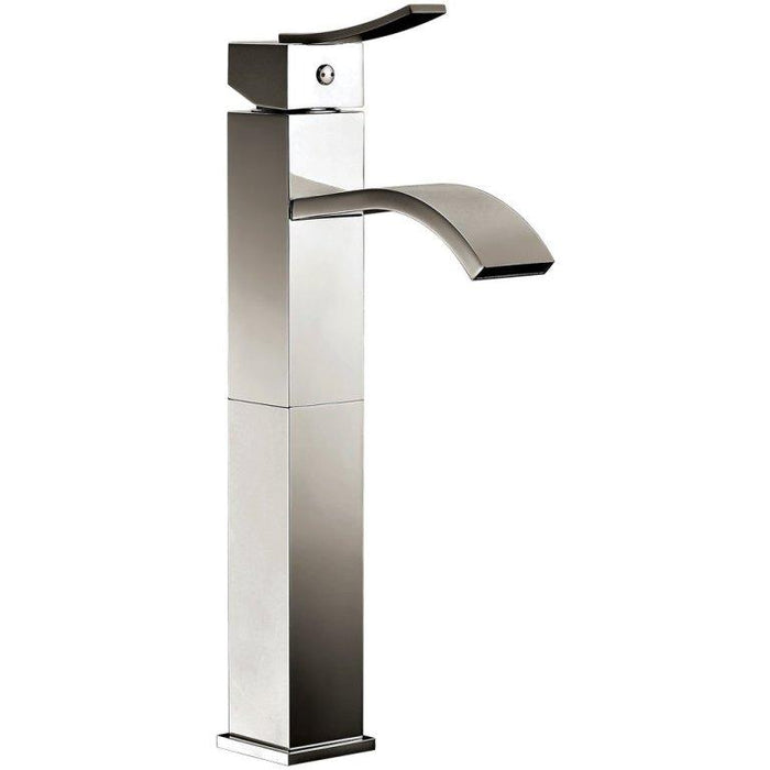 Dawn Single Lever Square Vessel Faucet-Bathroom Faucets Fast Shipping at DirectSinks.