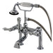 Kingston Brass Aqua Eden AE104T1BAL Bel Air Deck Mount Clawfoot Tub Faucet in Polished Chrome-Tub Faucets-Free Shipping-Directsinks.