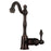 Premier Copper Products Single Handle Bar or Vessel Filler Faucet in Oil Rubbed Bronze-DirectSinks
