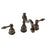 Premier Copper Products Widespread Bathroom Faucet in Oil Rubbed Bronze-DirectSinks