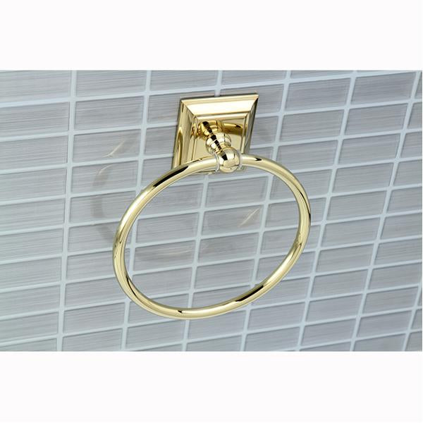 Kingston Brass Millennium Towel Ring-Bathroom Accessories-Free Shipping-Directsinks.