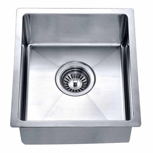 "Dawn BS121307 14"" Undermount Single Bowl Bar Sink-Kitchen Sinks-DirectSinks"