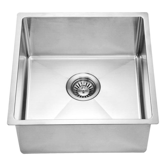 "Dawn BS161609 18"" Undermount Single Bowl Stainless Steel Bar Sink-Bar & Prep Sinks Fast Shipping at DirectSinks."