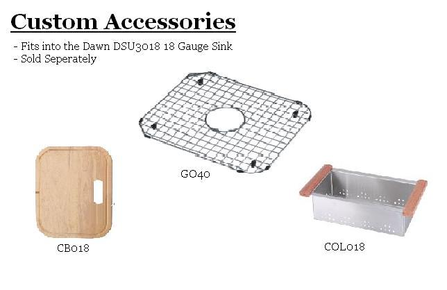 Dawn DSU3018 Sink Bottom Grid-Kitchen Accessories Fast Shipping at DirectSinks.