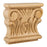 Hardware Resources Rubberwood Acanthus Traditional Capital-DirectSinks