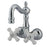 "Kingston Brass CC1080T1 Vintage 3-3/8"" Wall Mount Clawfoot Tub Filler-Tub Faucets-Free Shipping-Directsinks."