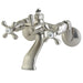 Kingston Brass CC2661 Vintage Wall Mount Tub Faucet with Riser Adapter-Tub Faucets-Free Shipping-Directsinks.