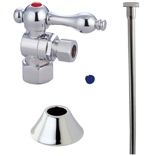 Kingston Brass Trimscape Traditional Brass Plumbing Toilet Trim Kit-Bathroom Accessories-Free Shipping-Directsinks.