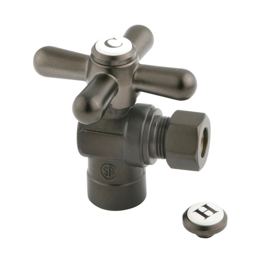 "Kingston Brass Vintage Angle Stop with 1/2"" Sweat x 3/8"" OD Compression-Bathroom Accessories-Free Shipping-Directsinks."