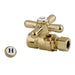 "Kingston Brass Vintage Straight Stop with 1/2"" Sweat x 3/8"" OD Compression-Bathroom Accessories-Free Shipping-Directsinks."