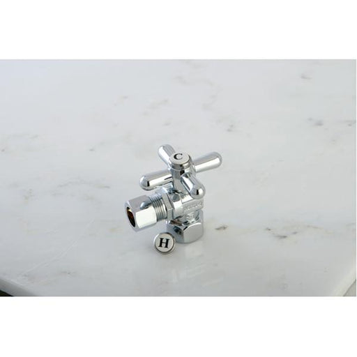 "Kingston Brass Vintage Angle Stop with 1/2"" IPS x 1/2"" OD Compression-Bathroom Accessories-Free Shipping-Directsinks."