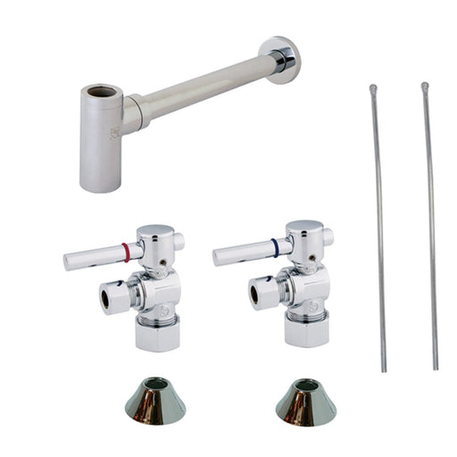 Kingston Brass Trimscape Contemporary Plumbing Sink Trim Kit With P Tr