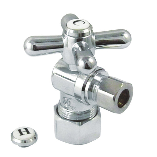 "Kingston Brass Vintage Classic Angle Stop with 5/8"" OD Compression x 3/8"" OD Compression-Bathroom Accessories-Free Shipping-Directsinks."