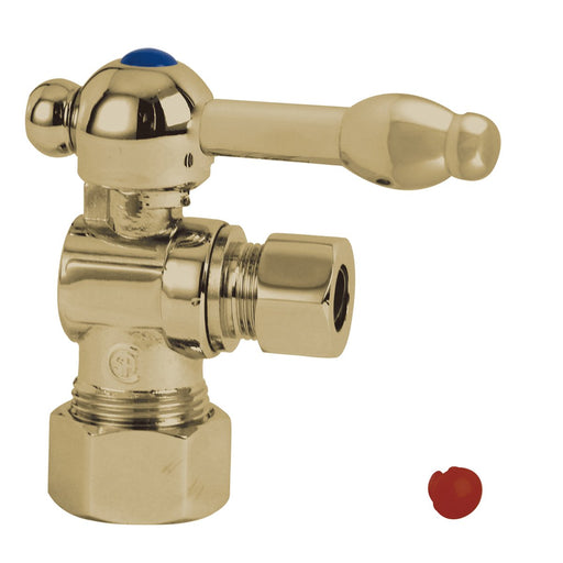"Kingston Brass Vintage Angle Stop with 5/8"" OD Compression x 3/8"" OD Compression-Bathroom Accessories-Free Shipping-Directsinks."