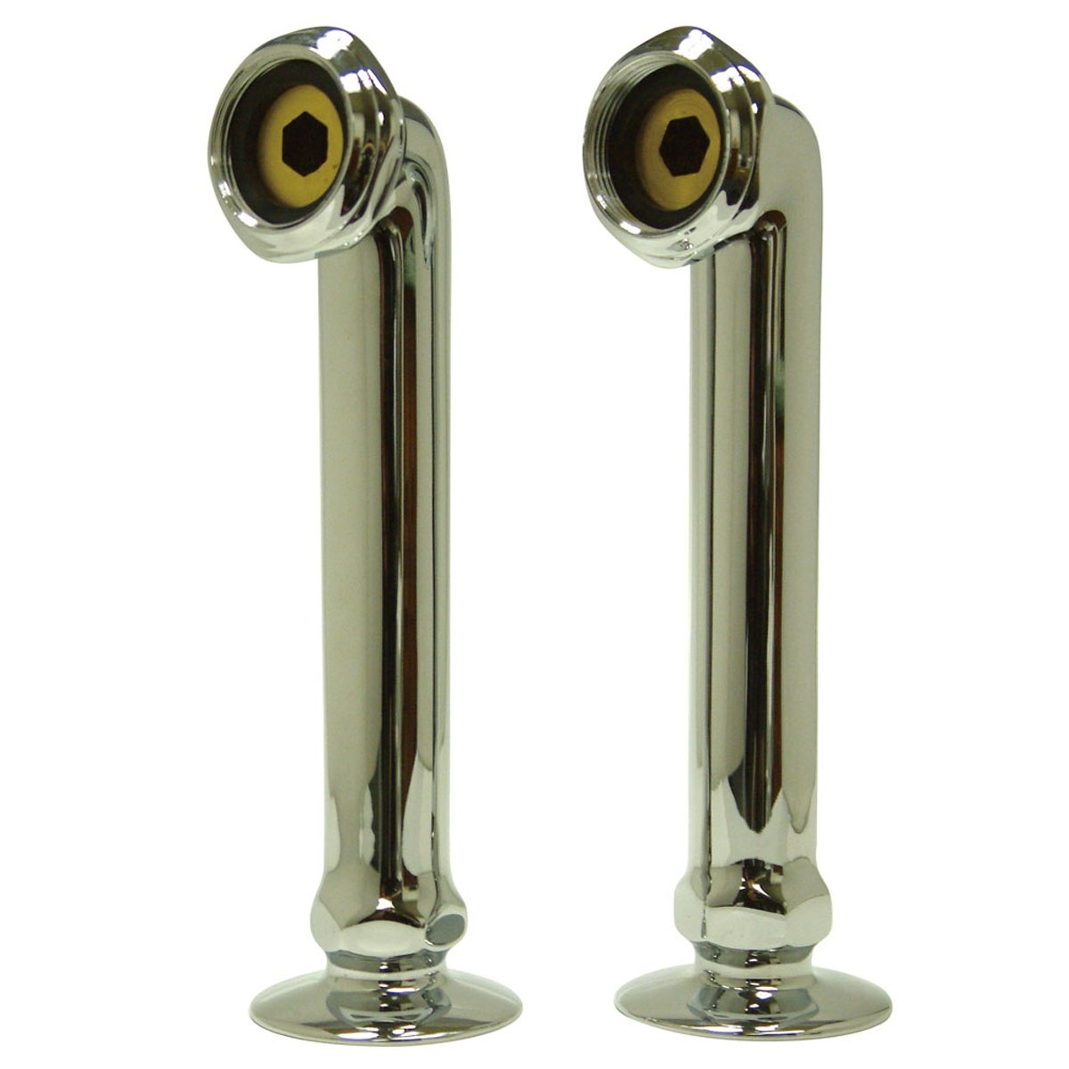 "Kingston Brass Vintage 6"" Deck Mount Risers for Clawfoot Tub Faucet-Bathroom Accessories-Free Shipping-Directsinks."