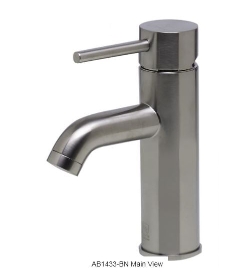 Alfi AB1433 Single Lever Bathroom Faucet-Bathroom Faucets-DirectSinks