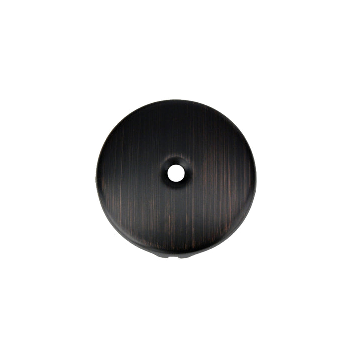 Premier Copper Products Tub Drain Trim and Single-Hole Overflow Cover for Bath Tubs - Oil Rubbed Bronze-DirectSinks