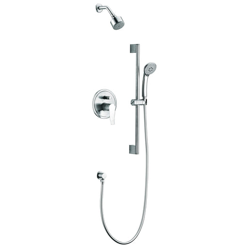 Dawn Everglades Series Shower Combo Set Wall Mounted Showerhead with Slide Bar Handheld Shower-Shower Faucets-DirectSinks