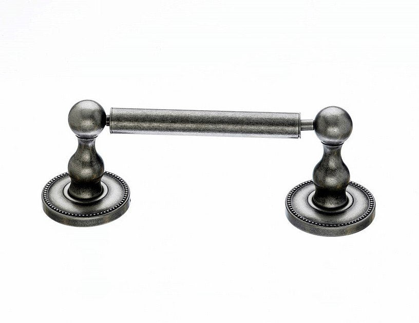 Topknobs ED3APA Tissue Holder with Beaded Detail in Antique Pewter-DirectSinks