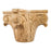 Hardware Resources Rubberwood Acanthus Fireplace Column Capital-DirectSinks