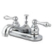 Kingston Brass Water Saving Restoration Centerset Lavatory Faucet with Lever Handles-Bathroom Faucets-Free Shipping-Directsinks.