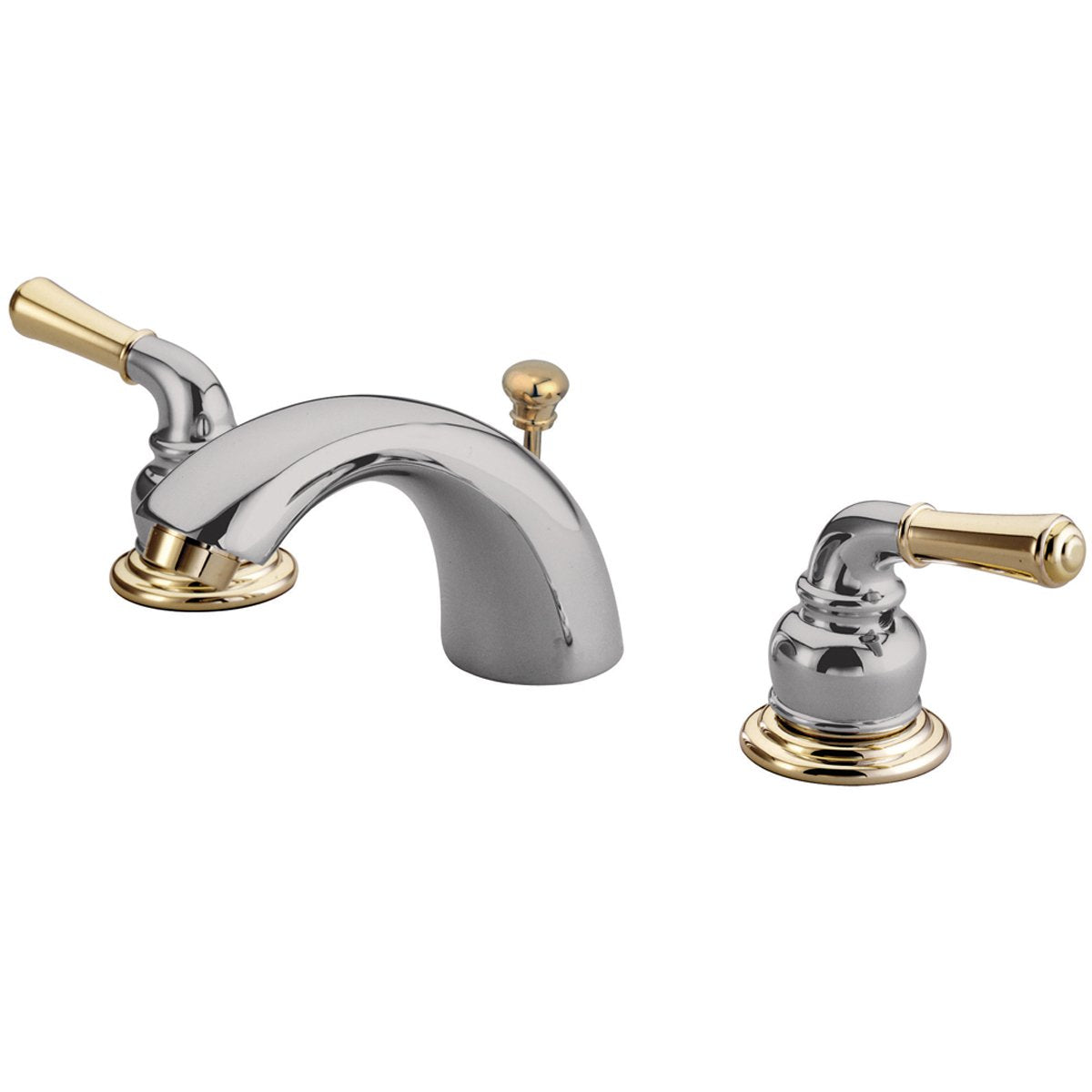 Kingston Brass Magellan Water Saving Mini Widespread Lavatory Faucet-Bathroom Faucets-Free Shipping-Directsinks.