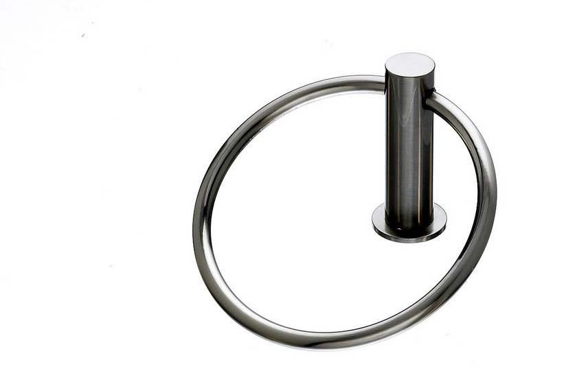 Topknobs HOP5BSN Towel Ring in Brushed Satin Nickel-DirectSinks