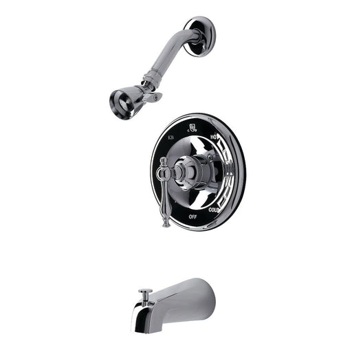 Kingston Brass KB1631NL Tub and Shower Faucet in Polished Chrome