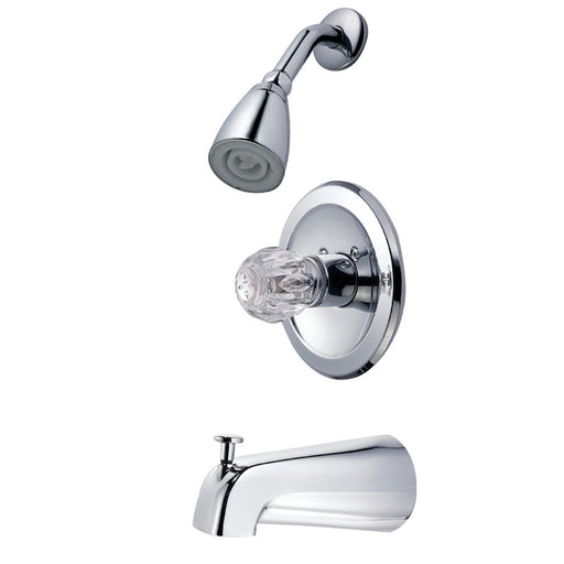 Kingston Brass Tub and Shower Trim Only For KB531 in Polished Chrome